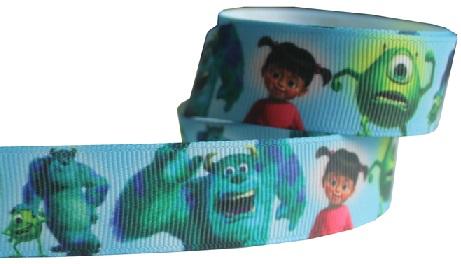 Monsters Inc Scrapbooking Ribbon