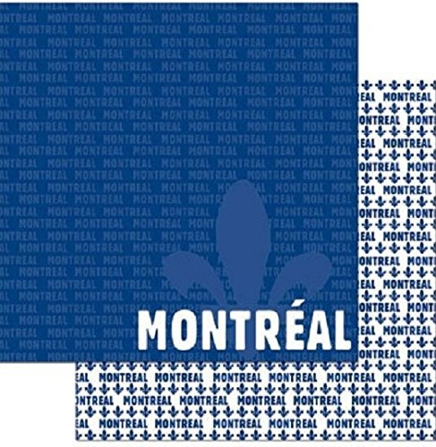 Montreal 12x12 Double Sided Scrapbooking Paper