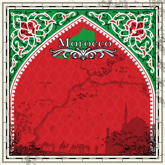 Morocco Sightseeing 12x12 Scrapbooking Paper
