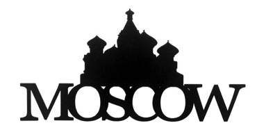 Moscow Scrapbooking Laser Cut Title with Kremlin