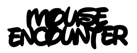 Mouse Encounter Scrapbooking Laser Cut Title