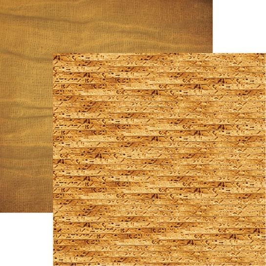 Mummified 12x12 Double Sided Scrapbooking Paper
