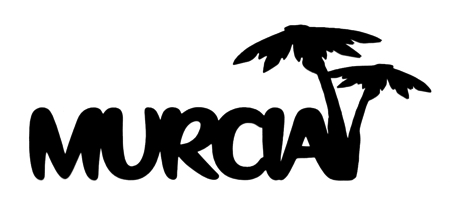 Murcia Scrapbooking Laser Cut Title with Palm Trees