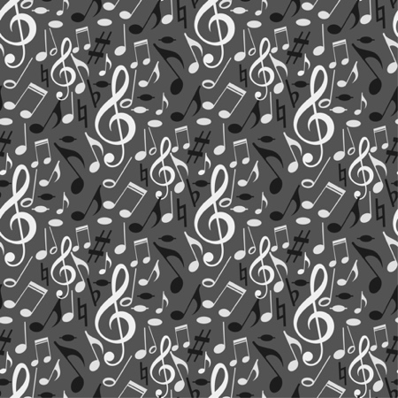 Music Notes 12x12 Scrapbooking Paper