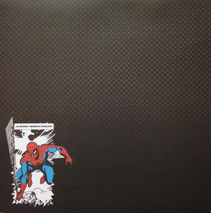 My Spider Sense Is Tingling 12x12 Scrapbooking Paper