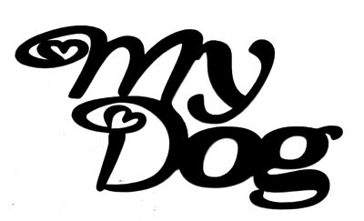 My Dog Scrapbooking Laser Cut Title