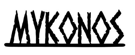 Mykonos Scrapbooking Laser Cut Title