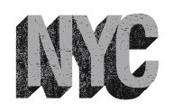 NYC Scrapbooking Sticker with Foil