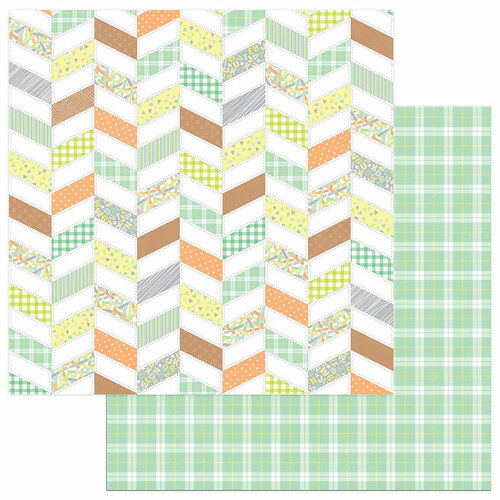 Naptime 12x12 Double Sided Scrapbooking Paper