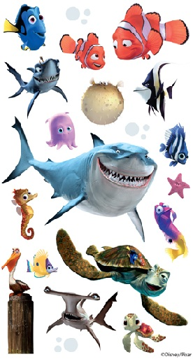 Finding Nemo Disney Stickers