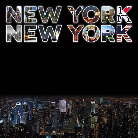 New York New York 12x12 Scrapbooking Paper