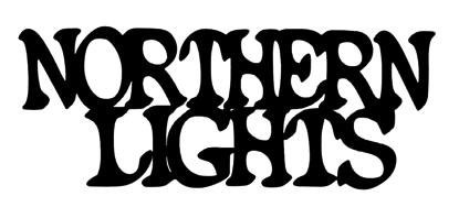 Northern Lights Scrapbooking Laser Cut Title