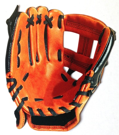 Baseball Gloves Scrapbooking Die Cut