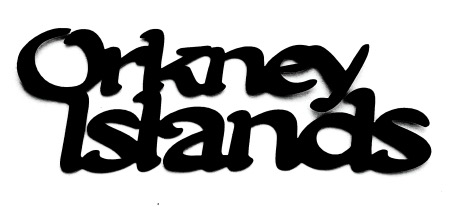 Orkney Islands Scrapbooking Laser Cut Title