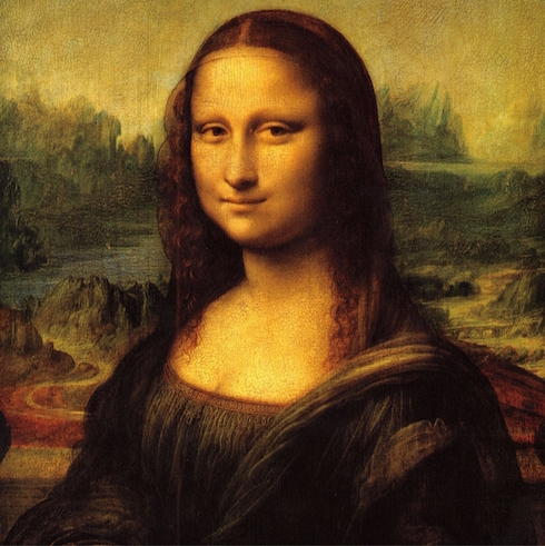 Mona Lisa 12x12 Scrapbooking Paper