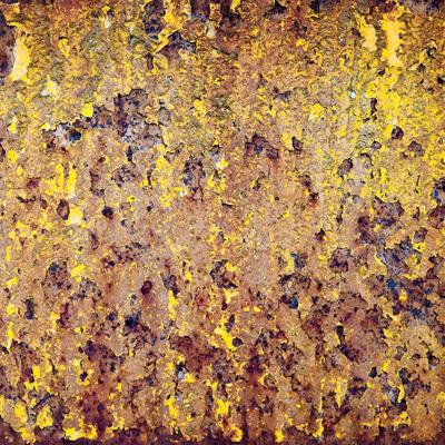 Yellow Oxidation 12x12 Scrapbooking Paper