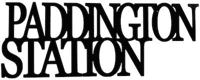 Paddington Station Scrapbooking Laser Cut Title