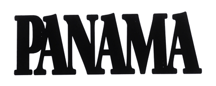 Panama Scrapbooking Laser Cut Title