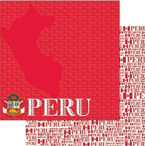 Peru 12x12 Double Sided Scrapbooking Paper