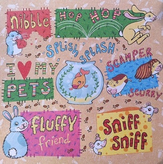 Pet Fun 12x12 Scrapbooking Paper