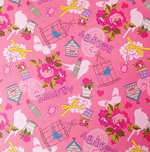 Disney Pink Beauty 12x12 Scrapbooking Paper