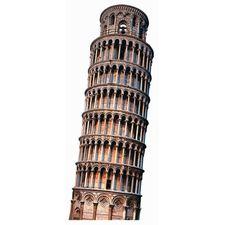 Leaning Tower of Pisa Scrapbooking Die Cut
