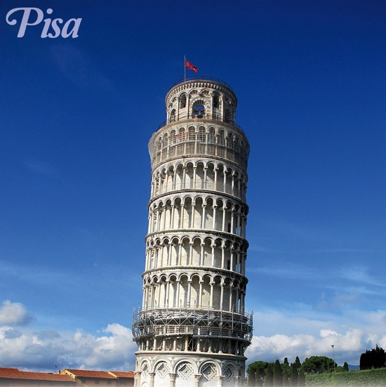 Pisa 12x12 Scrapbooking Paper