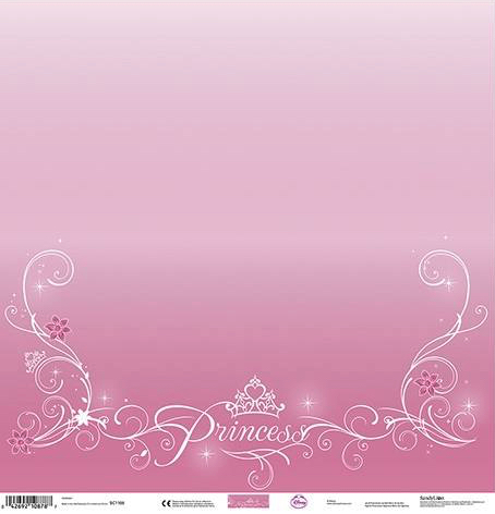 Disney Princess 12x12 Scrapbooking Paper