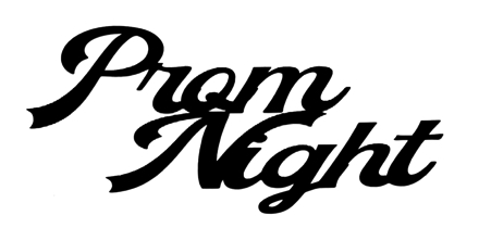 Prom Night Scrapbooking Laser Cut Title
