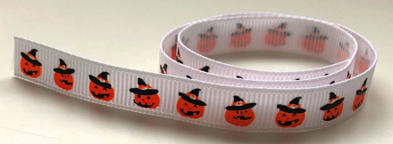 Pumpkins Halloween Scrapbooking Ribbon