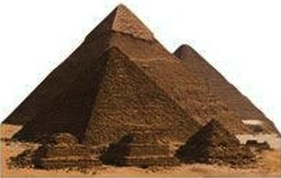 Pyramids Scrapbooking Die Cut