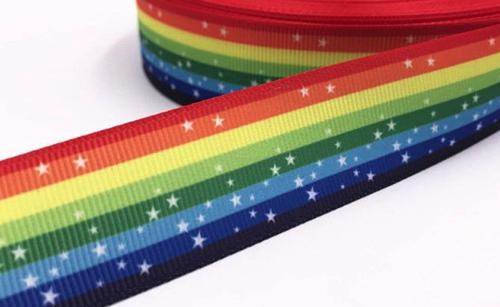 Rainbow Scrapbooking Ribbon