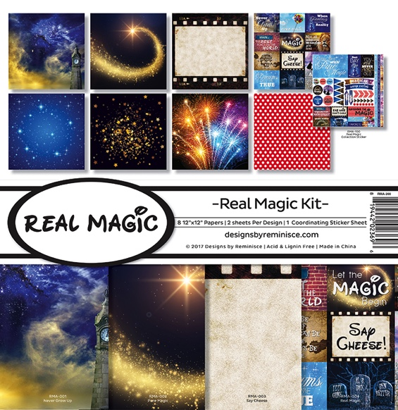 Real Magic Scrapbooking Kit