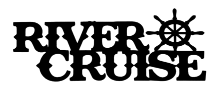 River Cruise Scrapbooking Laser Cut Title with Wheel