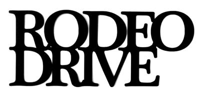 Rodeo Drive Scrapbooking Laser Cut Title