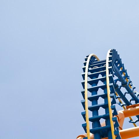 Roller Coaster 12x12 Scrapbooking Paper