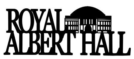 Royal Albert Hall Scrapbooking Laser Cut Title with Building