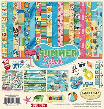 Summer Splash Scrapbooking Kit