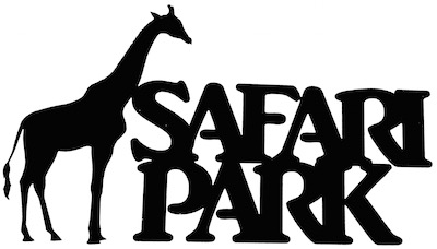 Safari Park Scrapbooking Laser Cut Title with Giraffe