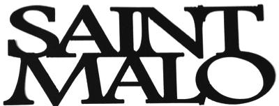 Saint Malo Scrapbooking Laser Cut Title