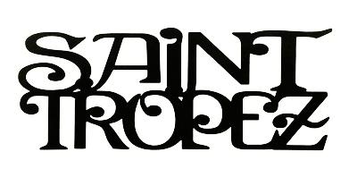 Saint Tropez Scrapbooking Laser Cut Title