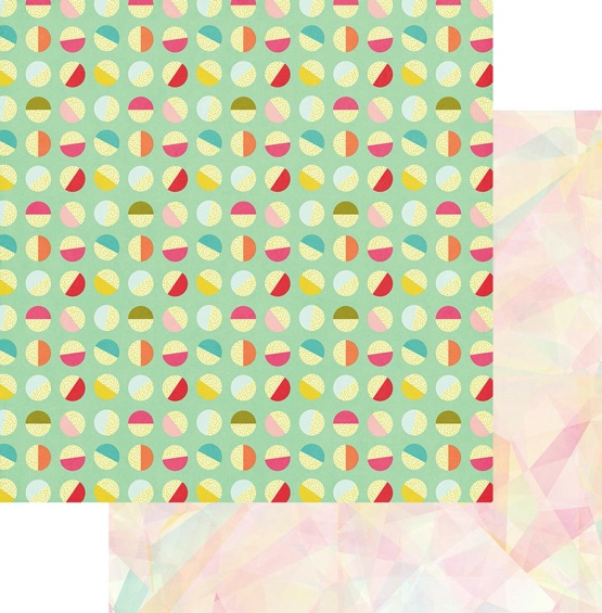 Good Times Summer Paper 12x12 Double Scrapbooking Paper