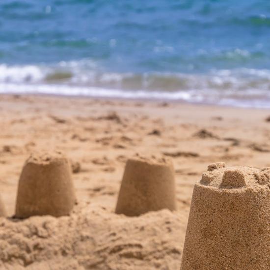 Sandcastles 12x12 Scrapbooking Paper