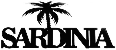 Sardinia Scrapbooking Laser Cut Title with Palm Tree
