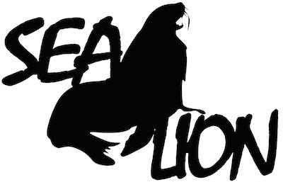 Sea Lion Scrapbooking Laser Cut Title with Sea Lion