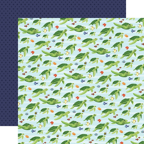 Sea Friends Double Sided 12x12 Scrapbooking Paper