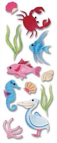 Sea Life Jolees 3D Scrapbooking Stickers