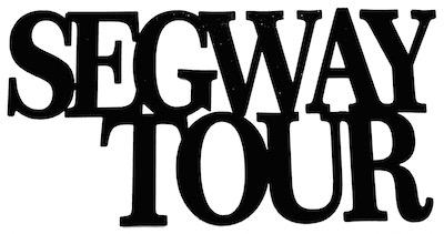 Segway Tour Scrapbooking Laser Cut Title