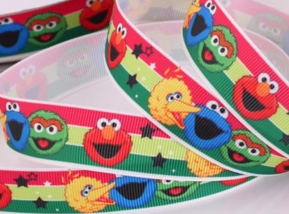 Sesame Street Self Adhesive Scrapbooking Ribbon