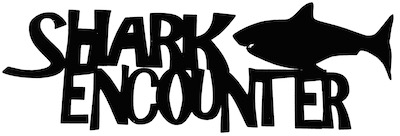 Shark Encounter Scrapbooking Laser Cut Title with Shark